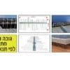 דוקרן דגם H להגנה ללוחות סולאריים